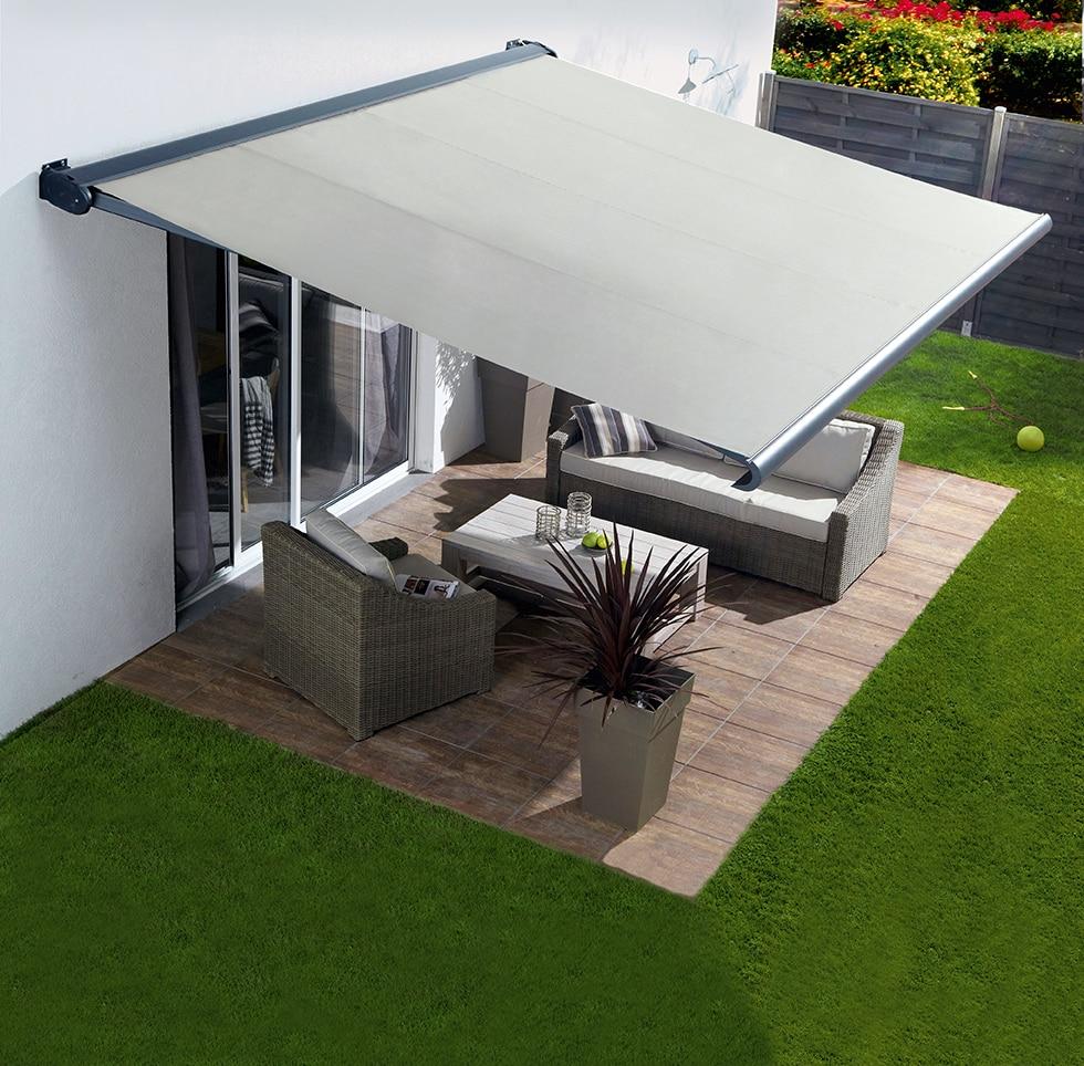 Toldos para terrazas precios toldo brazos extensibles for Toldos triangulares para terrazas