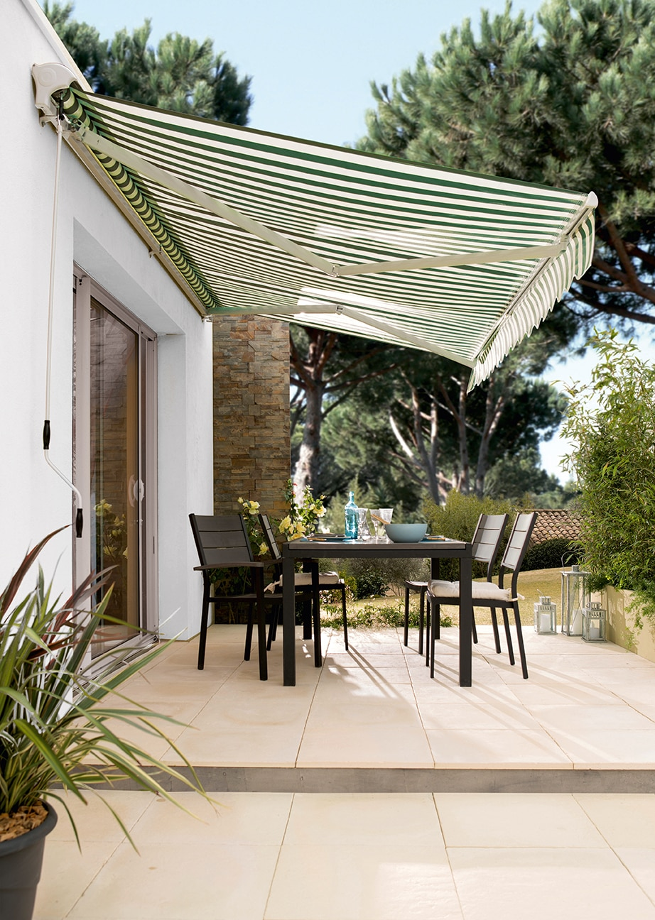 Toldos verticales leroy merlin latest parasol para - Toldos verticales para exterior ...