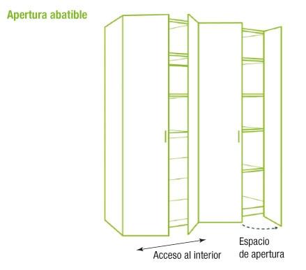 Puertas plegables de armario leroy merlin tattoo design bild for Armario 120 ancho