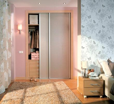 Casa residencial familiar armario 2 puertas correderas for Armarios sin puertas leroy merlin