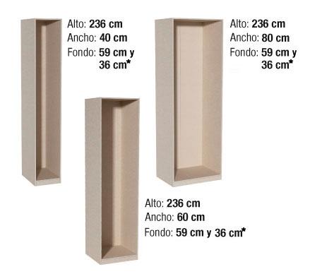 Para nuestra familia armarios fondo 30 cm for Mueble 30 cm ancho