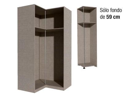 Casas cocinas mueble vestidor leroy merlin - Armarios de esquina a medida ...