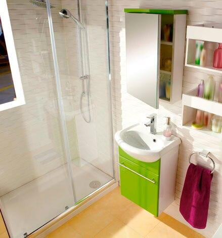 Optimiza el espacio leroy merlin for Estanterias ducha bano