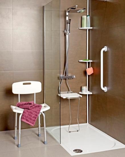 Un espacio seguro leroy merlin - Como montar mampara de ducha ...