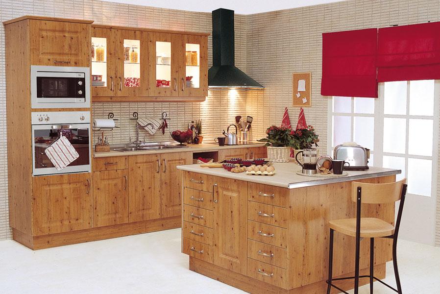 Sue a tu cocina con acabado madera leroy merlin - Cocinas leroy merlin opiniones ...