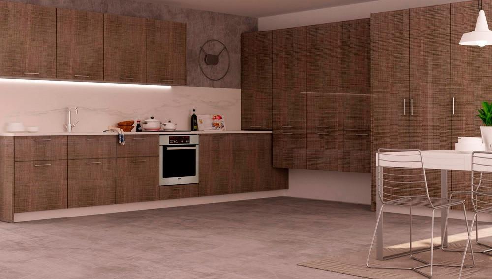 Muebles de cocina asturias latest with muebles de cocina for Cocinas rusticas leroy merlin