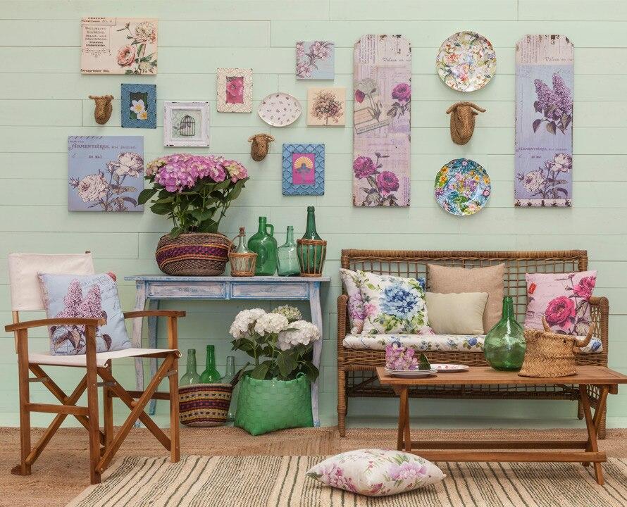 Colecci n floral leroy merlin - Enmarcar cuadros leroy merlin ...