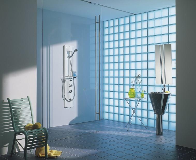 Decora con bloques de vidrio leroy merlin - Pared de vidrio ...