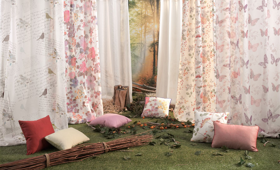 Decoideas tejidos de moda para tu casa leroy merlin - Cortinas para salon leroy merlin ...
