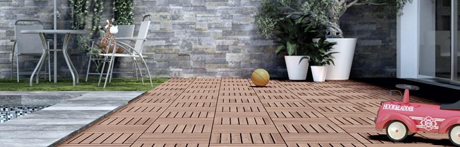 un suelo para cada zona del jardn