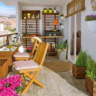 Especial terrazas leroy merlin for Ideas suelo terraza