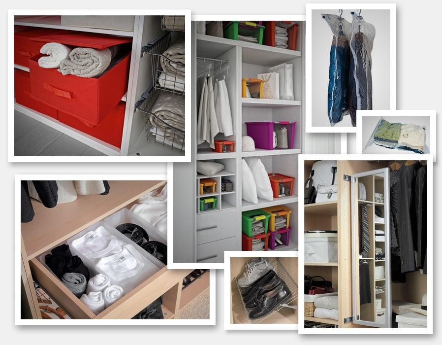Ideas para ordenar tu casa leroy merlin - Ordenar armarios de ropa ...