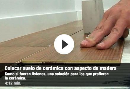 De cer mica especial suelos leroy merlin - Suelo de ceramica imitacion madera ...