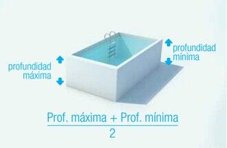 Mantenimiento de piscinas for Calcular volumen piscina