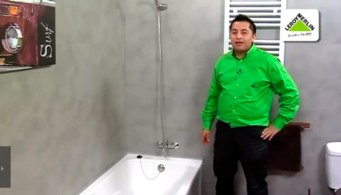 Cambiar un grifo de ba era por uno termost tico leroy merlin for Cambiar banera por ducha leroy merlin