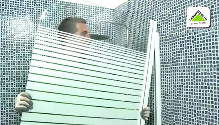 C mo colocar un biombo de ba era leroy merlin - Instalar una mampara de ducha ...