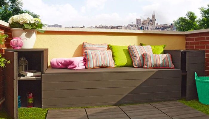 Como Construir Un Banco Baul Leroy Merlin - Banco-terraza