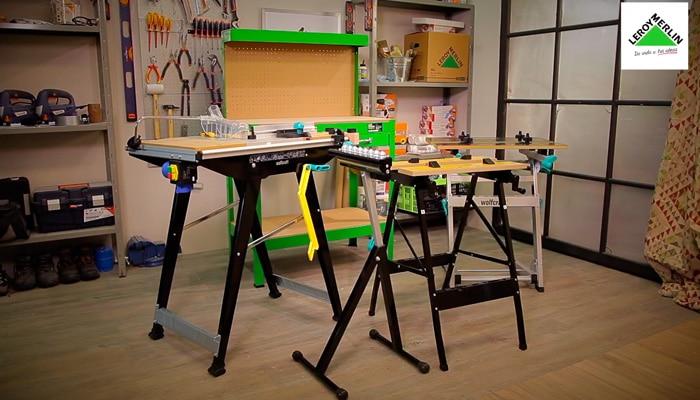 C mo elegir mesas y bancos de trabajo leroy merlin for Mesa de trabajo leroy merlin
