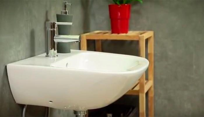 c mo instalar un lavabo suspendido leroy merlin