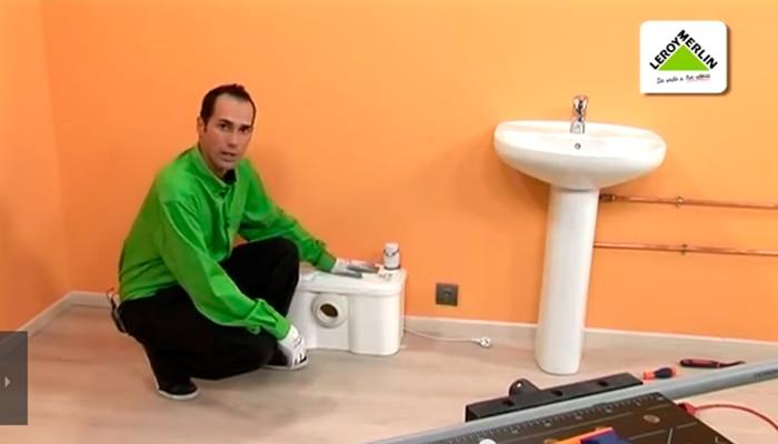 Instala un ba o en cualquier parte de tu casa leroy merlin - Extractores de bano leroy merlin ...