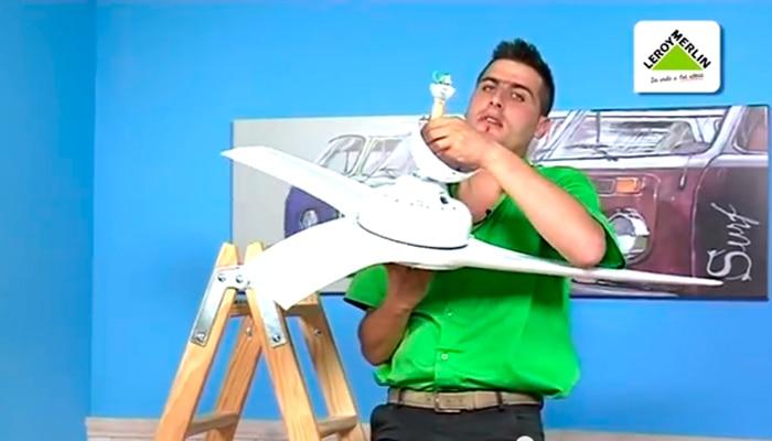Instalar un ventilador de techo leroy merlin - Ventiladores techo leroy ...