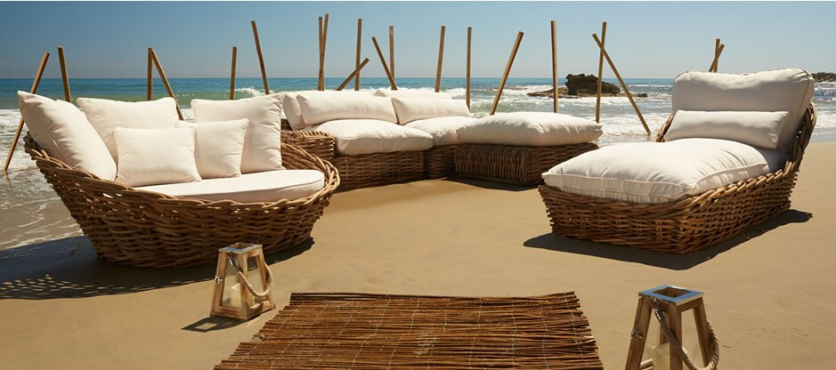 Muebles de jard n premium leroy merlin for Sofa exterior leroy