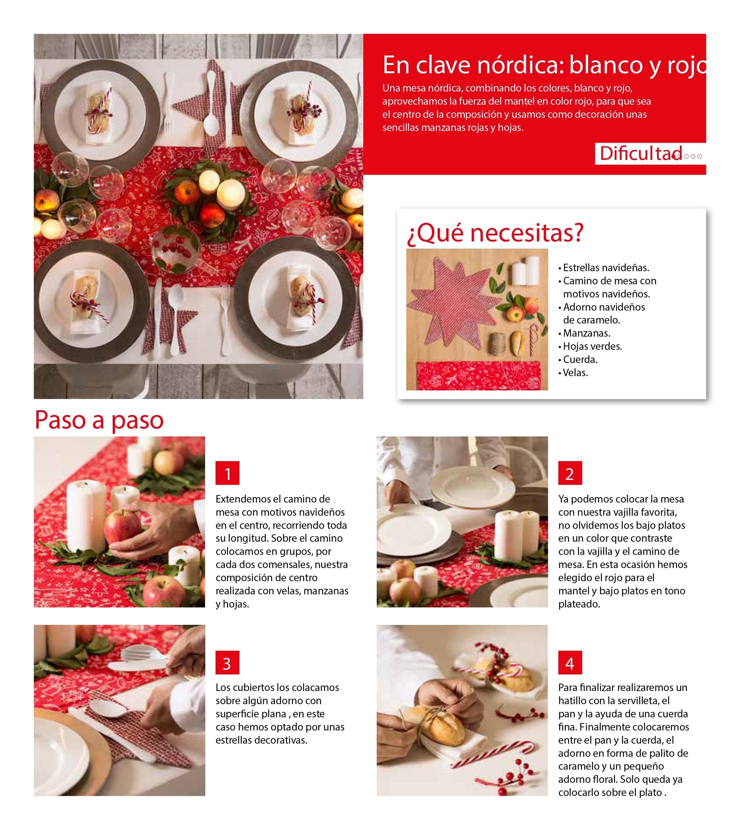 Mesas de navidad leroy merlin - Mantel individual leroy merlin ...