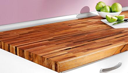 Ideas y consejos leroy merlin - Encimera madera maciza ...