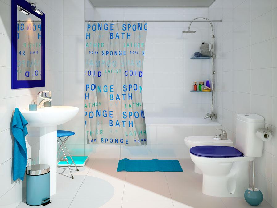Imagenes De Baños Nuevos:Baño actual – Un nuevo aire para tu baño – Leroy Merlin