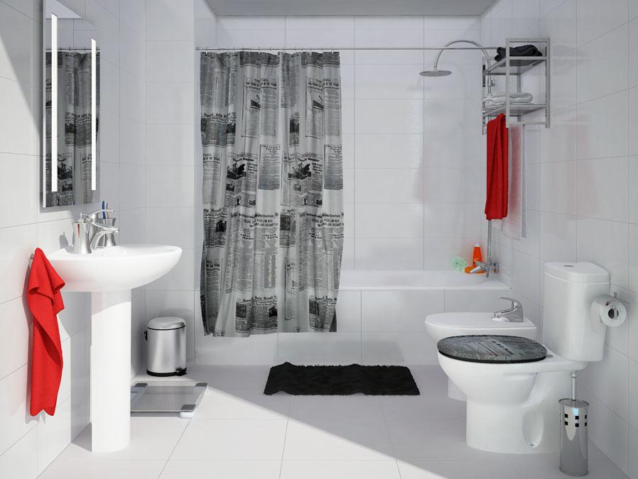 Ba o moderno un nuevo aire para tu ba o leroy merlin for Accesorios para decorar banos