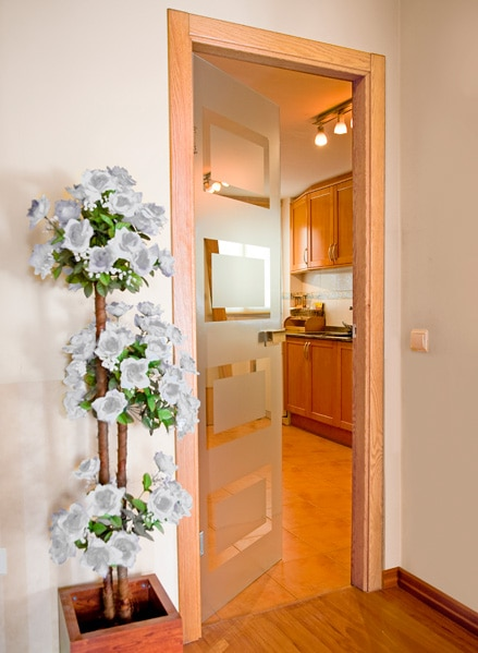 Decora tus puertas de cristal leroy merlin - Cristal puerta salon ...
