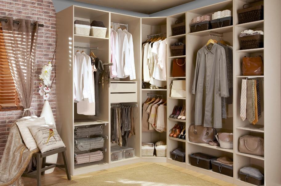 Convertir ba o en vestidor - Interiores de armarios leroy merlin ...