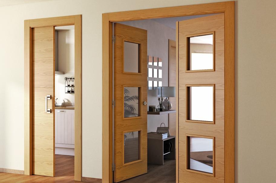 Distintas pero coordinadas leroy merlin - Puertas dobles de interior ...