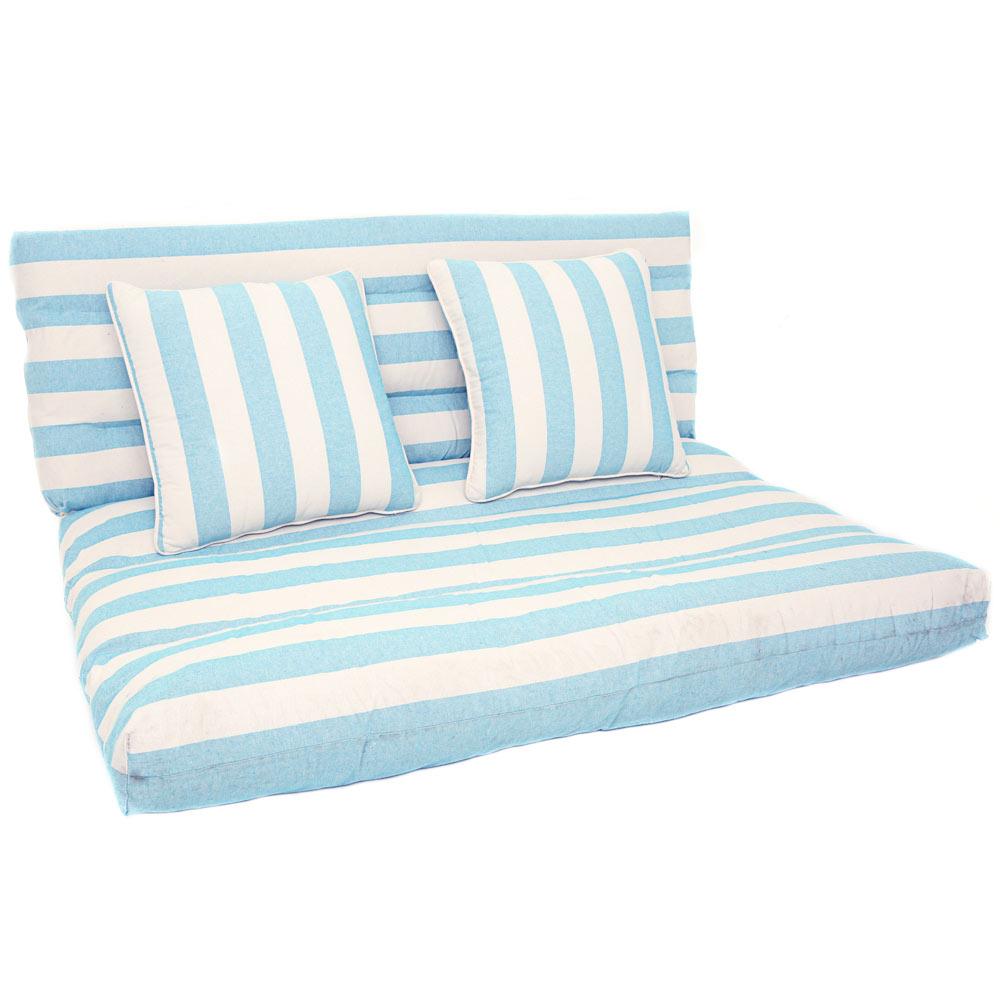 Coj n para mueble de jard n palet ref 17845345 leroy merlin for Sillones de plastico para terrazas