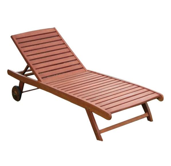 tumbona de madera de acacia acacia ergo ref 13692546