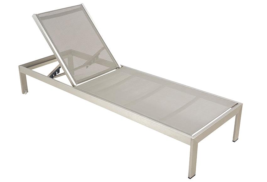 Tumbona de aluminio y textileno albany ref 17235456 - Tumbonas leroy merlin ...