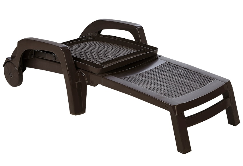 tumbona de resina miami chocolate ref 17437924 leroy merlin. Black Bedroom Furniture Sets. Home Design Ideas