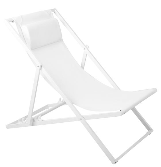 Hamaca de playa azores blanco ref 17783115 leroy merlin - Hamacas de playa ...
