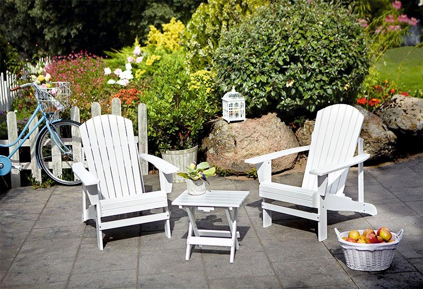 Mesa de madera de eucalipto california ref 15962541 for Mesa picnic madera leroy merlin
