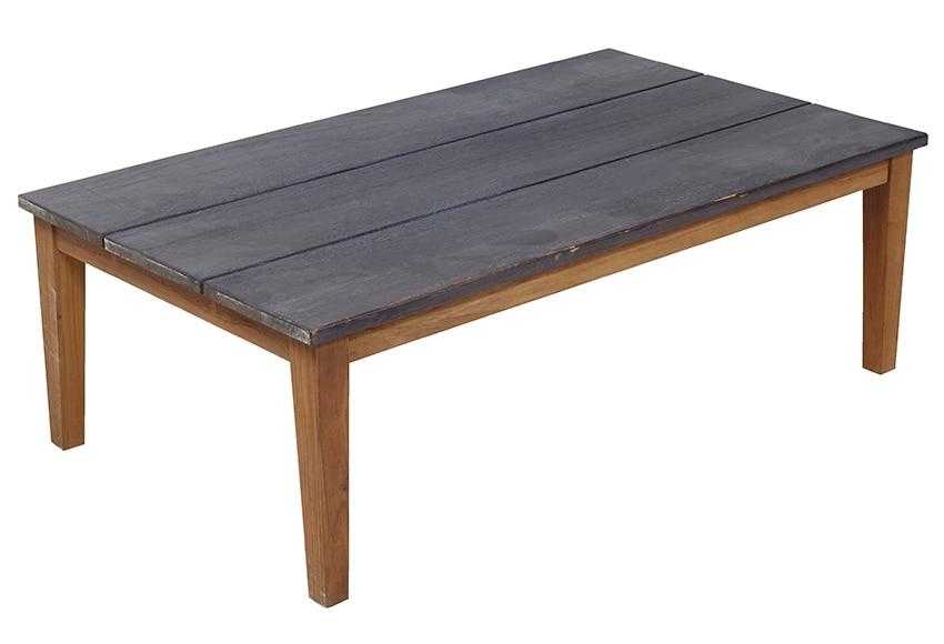 Mesa de aluminio y madera de teca pap a ref 17235813 - Mesas de teca exterior ...