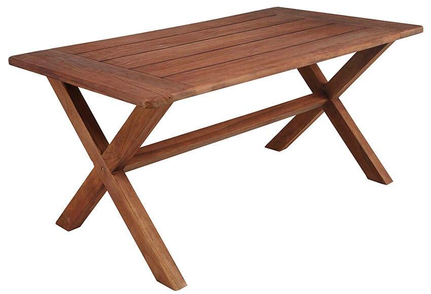Mesa de madera de teca y rat n sint tico tanzania ref - Mesa de teca ...