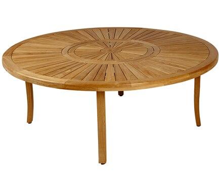 Mesa de madera de teca saigon ref 17806264 leroy merlin for Mesa picnic madera leroy merlin