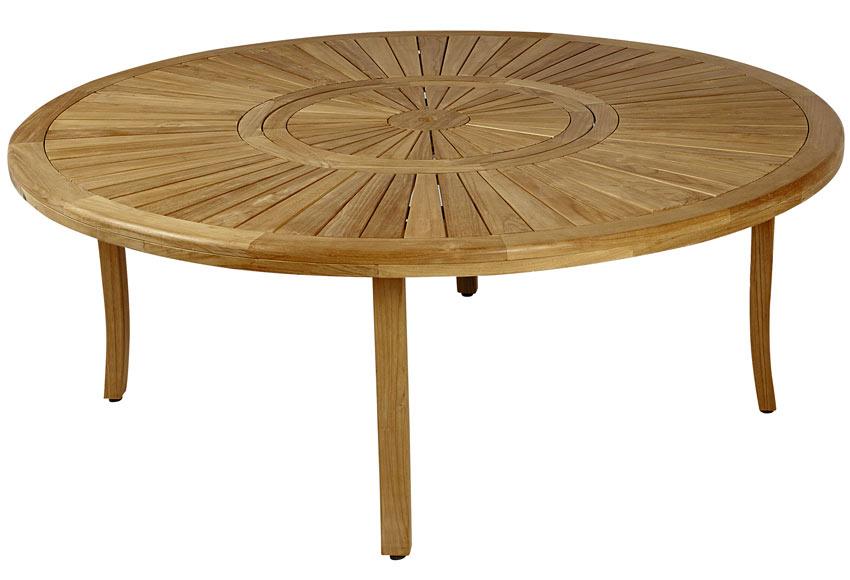 Mesa de madera de teca saigon ref 17806264 leroy merlin - Mesa de teca ...