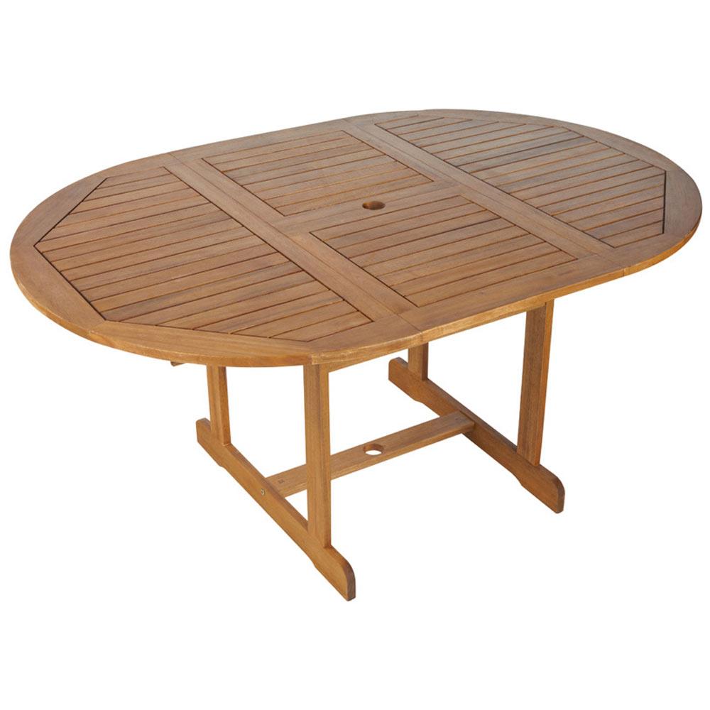 Mesas redondas extensibles de madera cool mesa redonda - Mesa camilla redonda leroy merlin ...