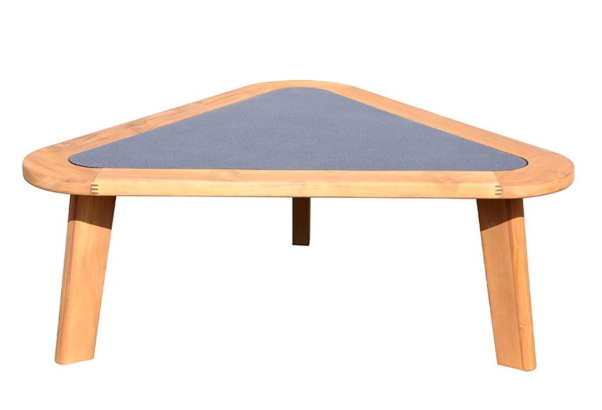 Mesa de madera de teca agoda ref 17358894 leroy merlin - Mesa de teca ...