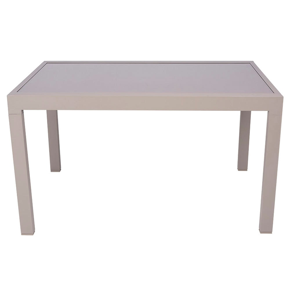 Mesa de aluminio andalucia extensible ref 17194352 for Mesas cocina carrefour