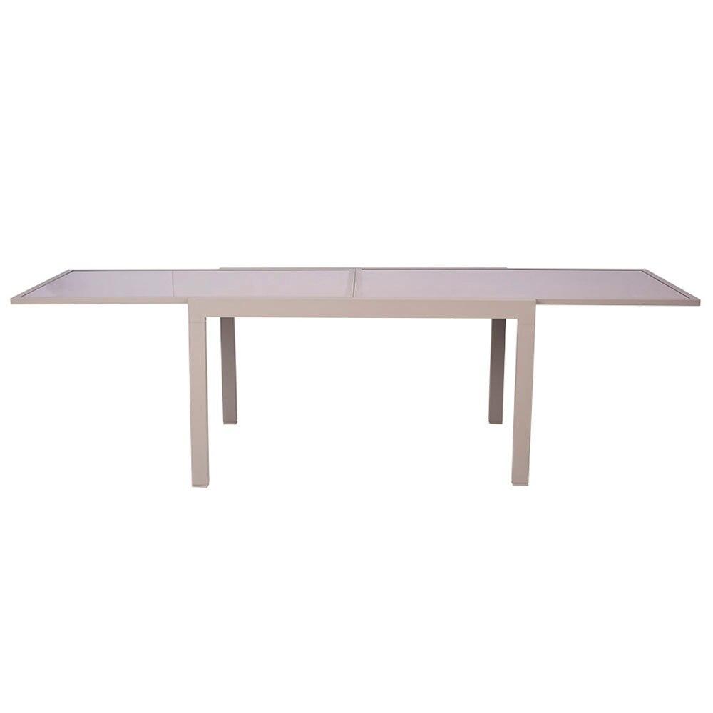 Mesa de aluminio andalucia extensible ref 17194352 - Tendedero extensible leroy merlin ...