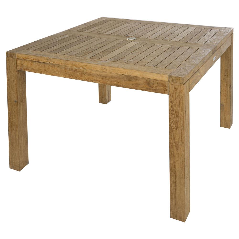 Mesa de madera reciclada AUSTRALIA CUADRADA Ref. 19192320 - Leroy Merlin