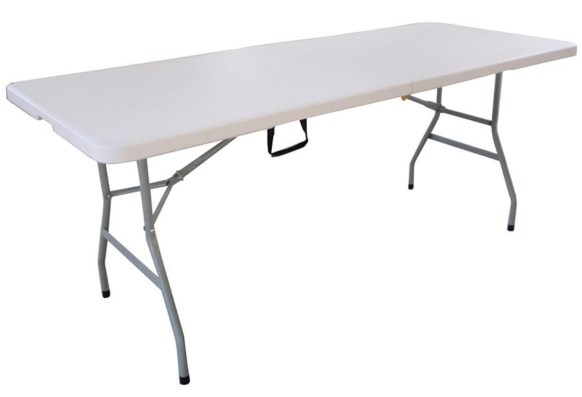 mesa plegable de acero catering ref 16671382 leroy merlin