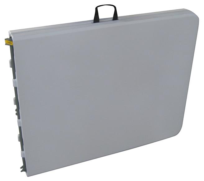 Mesa plegable de acero catering ref 16671382 leroy merlin for Mesas abatibles de pared leroy merlin